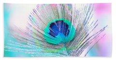Peacock Pride Hand Towel