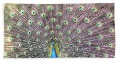 Peacock Splendor Hand Towel