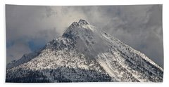 Hand Towel featuring the photograph Peak by Cathie Douglas