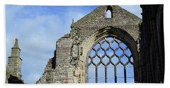 Peak Ruins Of Holyrood Abbey Bath Towel by DejaVu Designs
