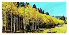 Peak To Peak Fall Glory Hand Towel by Joseph Hendrix