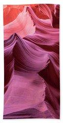 Peaks Of Pink Hand Towel