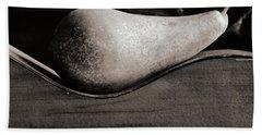 Pear #4745 Bath Towel by Andrey Godyaykin