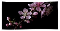 Peach Tree Blossum Bath Towel