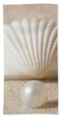 Pearl And Shell Bath Towel