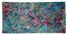 Pearls Painting  Hand Towel