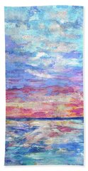 Pearly Sunset Hand Towel