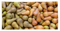 Pears At The Harvest Bath Towel
