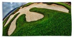 Pebble Beach Golf Cource Hand Towel