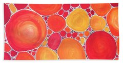 Pebbles At Sunset  Hand Towel