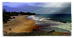 Pedasi Beach, In The Dry Arc Of Panama Hand Towel