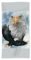 Bath Towel featuring the painting Peerless by Barbara Keith