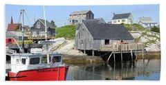 Peggy's Cove, Nova Scotia Bath Towel