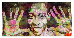 Pele Bath Towel by Svelby Art