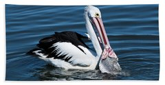 Pelican Fishing 6661 Hand Towel by Kevin Chippindall