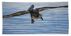 Pelican On Approach Bath Towel