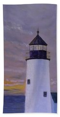 Pemaquid Light Morning Light Bath Towel