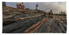 Pemaquid Point Cliffs Hand Towel