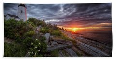 Pemaquid Sunrise Bath Towel