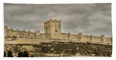 Penafiel Castle, Spain. Bath Towel