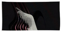 Hand Towel featuring the painting Penman Original-566 by Andrew Penman