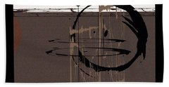 Hand Towel featuring the painting Penman Original-577 by Andrew Penman