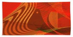 Hand Towel featuring the digital art Penman Original-734 by Andrew Penman
