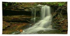 Pennsylvania Cave Falls Hand Towel