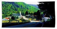 Pennsylvania Mountain Village Bath Towel