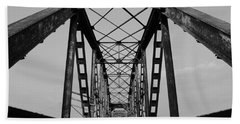 Pennsylvania Steel Co. Railroad Bridge Bath Towel