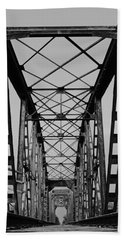 Pennsylvania Steel Co. Railroad Bridge Bath Towel