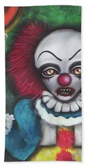 Pennywise Bath Towel by Abril Andrade Griffith