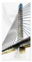 Penobscot Narrows Bridge And Observatory Bath Towel