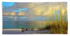 Pensacola Rainbow At Sunset Bath Towel