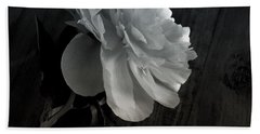Peonie Hand Towel by Sharon Jones