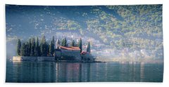 Perast Church Hand Towel