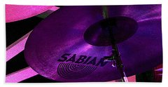 Bath Towel featuring the photograph Percussion by Lori Seaman