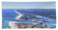 Perdido Pass Bridge 4319 Bath Towel