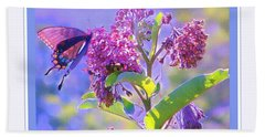 Perfect Butterfly Day Bath Towel