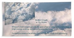 Perfect Clouds Hand Towel