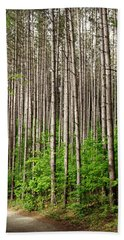 Perfect Path Hand Towel by Cyryn Fyrcyd