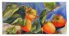 Persimmons Bath Towel