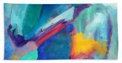 Perspective Abstract Painting Bath Towel
