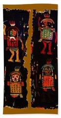 Hand Towel featuring the digital art Peruvian Fab Art by Asok Mukhopadhyay