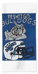 Peshtigo Bulldogs Hand Towel