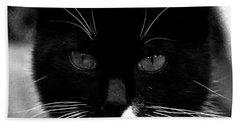 Pet Photography Kitkat Portrait 5 Bath Towel