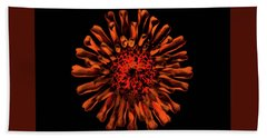 Petal Fire Bath Towel