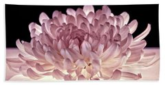 Bath Towel featuring the photograph Petal Purity by Leda Robertson