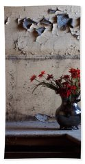 Petals And Peeling Paint - Preston Castle Bath Towel