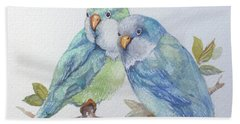 Pete And Repete Bath Towel by Marcia Baldwin